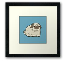 Worried Wrinkles Framed Print