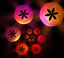 Flower Bubbles by James Brotherton