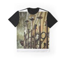 Crystal Fence Graphic T-Shirt