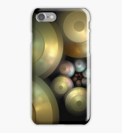 Flying Saucers Arise iPhone Case/Skin