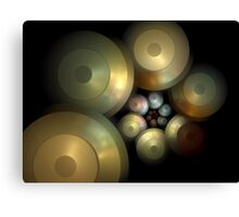 Flying Saucers Arise Canvas Print