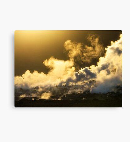 Salar de Uyuni Geyser. Bolivia. Canvas Print