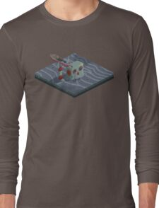 Attack of the Submarine Tin Robot Long Sleeve T-Shirt