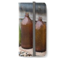 Bottles on the ground iPhone Wallet/Case/Skin