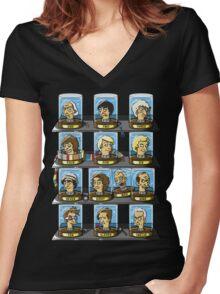 Regen-O-Rama Women's Fitted V-Neck T-Shirt