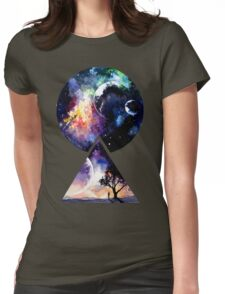 Galaxy - We are all Made of Star Stuff Womens Fitted T-Shirt