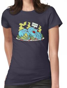 Cthulhu Dinner Womens Fitted T-Shirt