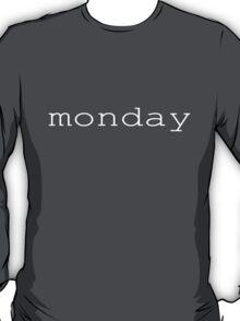 monday white T-Shirt