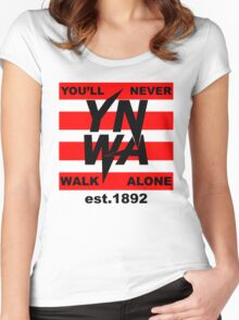 Ynwa - Liverpool - The Reds, - Liverpudlian Women's Fitted Scoop T-Shirt
