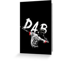 dab Greeting Card