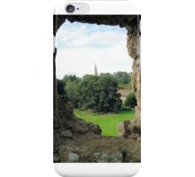 Quintessentially England -31- Castle View iPhone Case/Skin