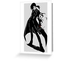 Greed Ling Yao Anime Manga Shirt Greeting Card