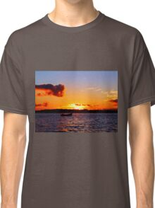 Anchored to Buoy at Dusk Classic T-Shirt