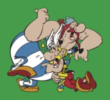 Asterix Obelix Cartoon Funny Kids Clothes