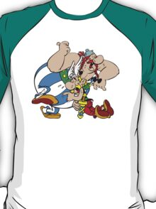 Asterix Obelix Cartoon Funny T-Shirt