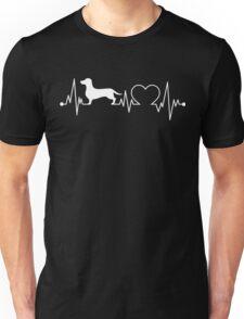 Dachshund Heartbeat Unisex T-Shirt