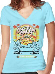 Cactuar Cooler Women's Fitted V-Neck T-Shirt