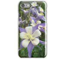 Purple, White, and Yellow Flowers iPhone Case/Skin