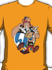 Asterix Obelix Cartoon Funny 2 T-Shirt