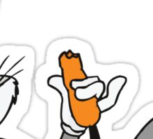 Bugs Bunny Looney Tunes Cartoon Funny Sticker