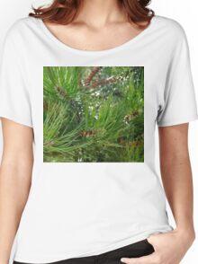 Long Pine Needles Women's Relaxed Fit T-Shirt