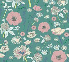 Sweet Meadow Floral by Sarah Price