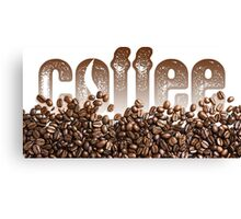 The Coffee Lover Canvas Print