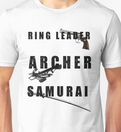 Ring Leader, Archer, Samurai Unisex T-Shirt