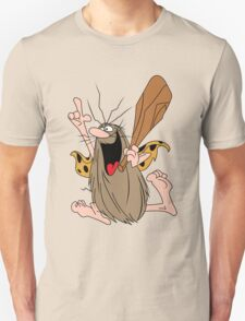 Captain Caveman Cartoon Funny T-Shirt