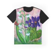 Violet and Lily of the Valley  Graphic T-Shirt