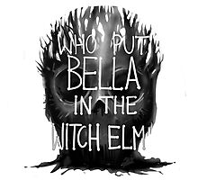 Who Put Bella in the Witch Elm Photographic Print
