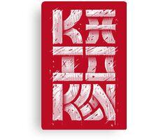 Kaioken Canvas Print