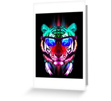 Cool Party Cat Greeting Card