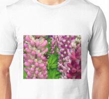 Bumblebee on Lupine Unisex T-Shirt