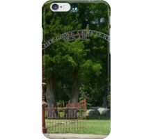 Civil War Cemetery iPhone Case/Skin