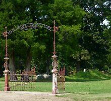 Civil War Cemetery by WildestArt