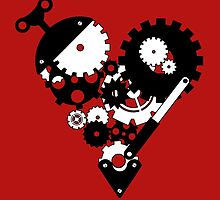 The Clockwork Heart by GradientPowell