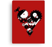 The Clockwork Heart Canvas Print