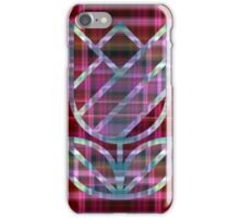Tulip on Plaid  iPhone Case/Skin