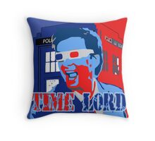 Police Public Call Box Time Lords Obama Hope Style Throw Pillow