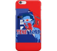 Police Public Call Box Time Lords Obama Hope Style iPhone Case/Skin