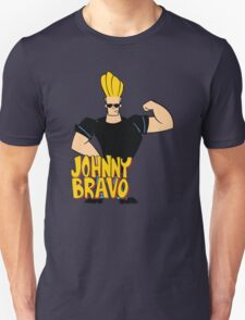 Johnny Bravo Cartoon Funny T-Shirt