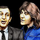 Rising Damp : Rigsby and Alan by Margaret Sanderson
