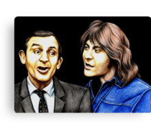 Rising Damp : Rigsby and Alan Canvas Print