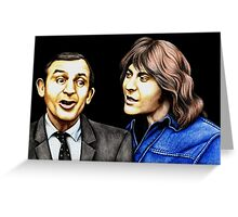 Rising Damp : Rigsby and Alan Greeting Card