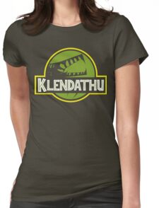 Klendathu Womens Fitted T-Shirt