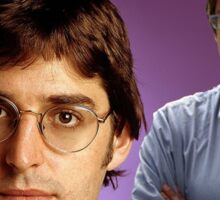 louis theroux Sticker