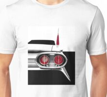 1961 Cadillac Tail Fin - Detail High Contrast Unisex T-Shirt