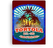 Paradise Island Tortola  Canvas Print