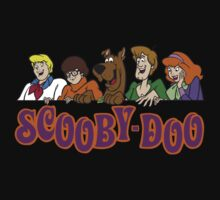 Scooby Doo Cartoon Funny 2 Kids Clothes